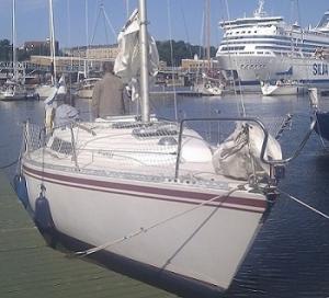 Продаю парусную яхту FINN 26